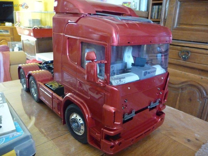 Scania 6x4 scania r620 6x4 camions rc fr for Interieur camion scania