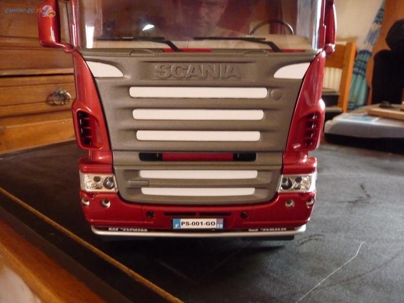 Scania 6x4 scania r620 6x4 page 2 camions rc fr for Interieur camion scania